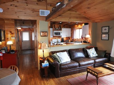 Photo for Hand-Crafted Cottage near Gore Mountain and Minerva Lake