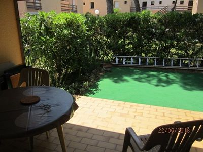 Photo for CHARMING T2, 1 BEDROOM, 4 PERSONS, SWIMMING POOL AND PARKING - CAP D'AGDE - refIPA312