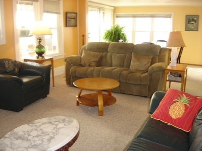 Photo for ON THE BEACH!  Very comfortable 2-bedroom home