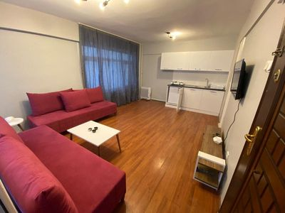 Photo for sam apartments is 10 min away from taksim square,1min to the sea, tramvay ,metro