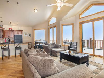Photo for Ouzel Peak 22A - 2 Br condo with Marys Lake and mountain views!