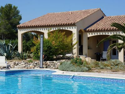Photo for Superb air-conditioned villa with private pool and play area