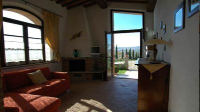 "Photo for ""Capannina"" with private garden and natural terrace on the Crete Senesi"