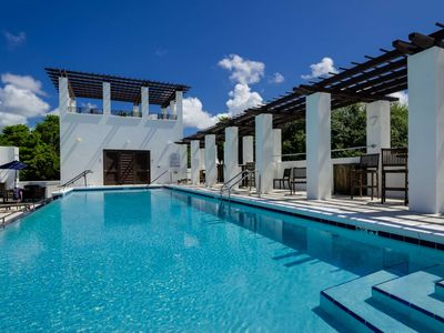 Photo for Stylish 30A Beach Home! Community Pool - Private Balcony -Perfect for Families-Parking for 3!