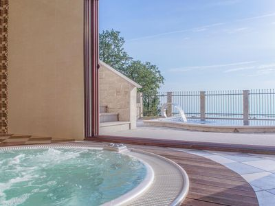 Photo for Villa Extra private pool Jacuzzi sauna finest sea views