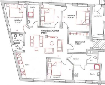 Photo for Apartment XL (4-8 pers./ from 2 nights) - Apartment-Haus Gundelfinger