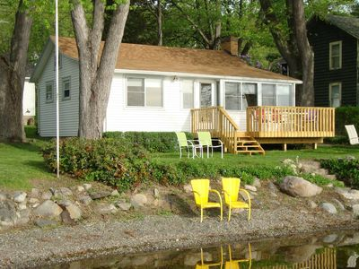 Photo for HONEOYE  LAKE - Reserve Your 2020  Vacation at  a  Cozy Lakefront Cottage