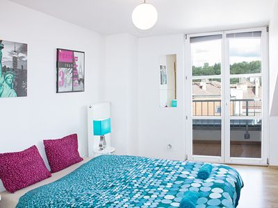 Photo for Nice duplex flat close to the center for couples or families by easyBNB