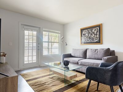 Photo for Sophisticated 2BR at The Domain by Sonder