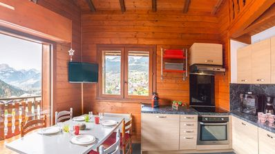 """Photo for """"L'Alpina"""" is a small residence set back from the main road which is near the center of the resort o"""