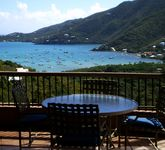 Beautiful peaceful villa perched above Coral Bay with owners that we happen to know & love.