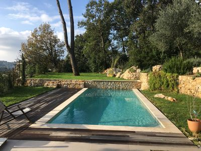 modern house with swimming pool and 500 m from the village of Valbonne -  Valbonne
