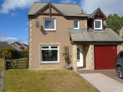 Photo for White Corries is a modern 4-bed detached house in Aviemore