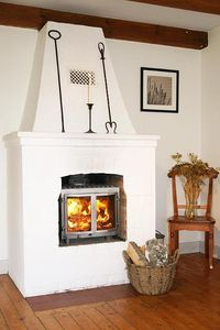Our lovely fireplace