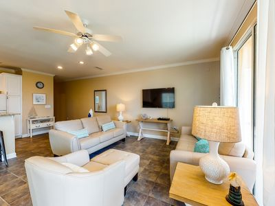 Photo for NEW LISTING! Gorgeous gulf front condo w/ shared pools & easy beach access!