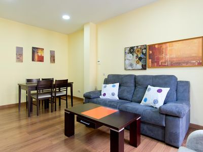 Photo for Jardines 3D apartment in Sol with WiFi, integrated air conditioning, balcony & lift.