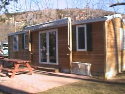 """Photo for Camping Enclave Mobile Home """"RHODODENDRON"""" 6pers"""