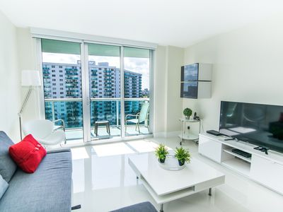 Photo for Newly renovated condo across from the beach. WiFi, parking, tennis and more!