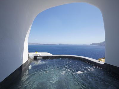 Photo for LANA VILLA 3 BEDROOMS 2 BATHROOMS UP TO 6 GUESTS OIA SANTORINI - Three Bedroom Villa, Sleeps 6