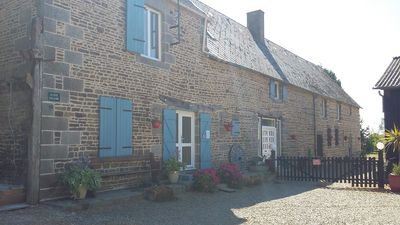 Photo for LUXURY 18TH CENTURY FARMHOUSE, DOG FRIENDLY  Nr MONT SAINT MICHEL NORMANDY