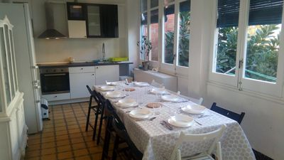 Photo for Spacious and bright 5 bedroom apartment 12 minutes from Sagrada Familia