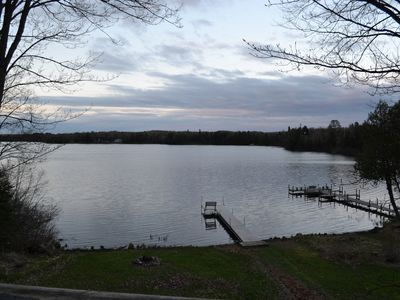 Photo for Angler's Escape Spacious, Secluded Trailside Family Lake Home With Great Views!