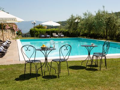 Photo for Villa il  Castellaccio #1 Chianti, Tuscany apartment with swimming pools
