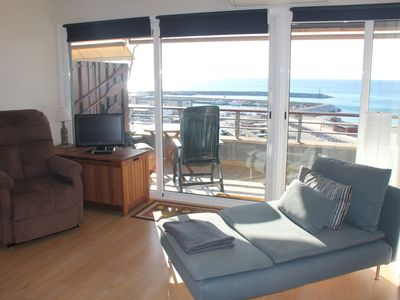 Photo for Beautiful apartment with incredible sea views for 4 people