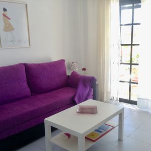 Photo for Apartment 800 meters from the beach. Fully equipped and communal pool