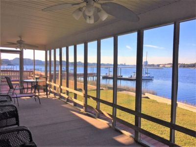 Photo for CANAL FRONT - 4 Bedroom/2 Bath, Private Boat Ramp, Boat Slip and Dock right at your back door!