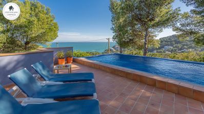 Photo for MONTGRI - house with private pool -Tamariu-Costa Brava