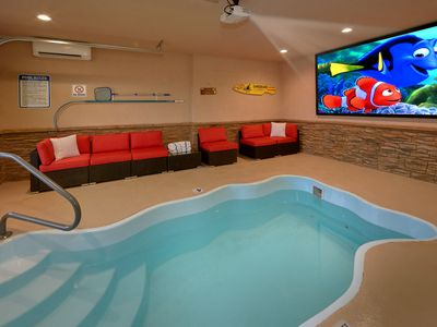 Photo for *** Brand New *** - Private Indoor Heater Pool with Game Room