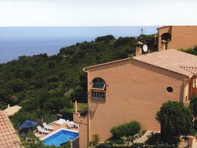 Photo for Rental Villa 6 people Begur - Beautiful sea view
