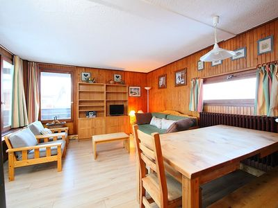Photo for Apartment 594 m from the center of Tignes with Lift, Internet, Balcony (98755)