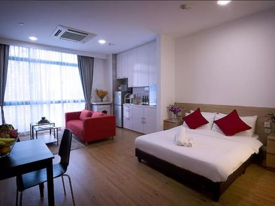 Photo for Serviced apartment in town near subway