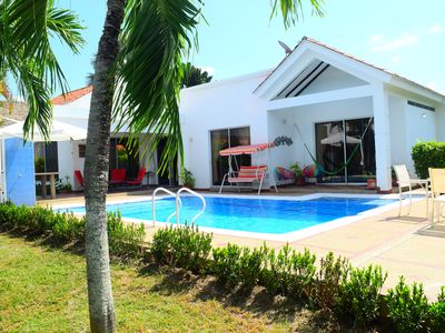 Photo for Lovely house in Carmen de Apicalá, Colombia, pool, condominium, bbq, green zones