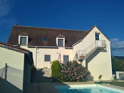 Photo for Large Villa with large swimming pool in Touraine