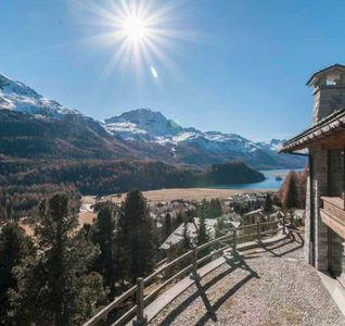 Photo for White Chalet with Spectacular Alpine Scenery