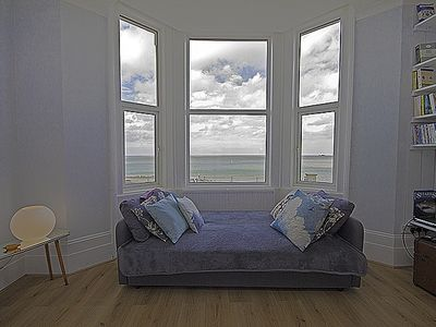 Photo for Margate - Family friendly beachfront Apartment, romantic with stunning Sea View!