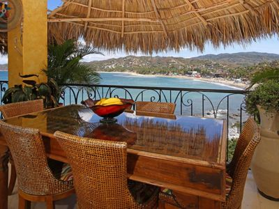 Photo for Villa Amor Oceanfront Villa Lanchas