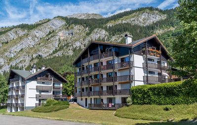 "Photo for Residence ""Bakoua"" located in the area of Contamines, at the foot of the slopes of Crêt Béni. Shuttl"