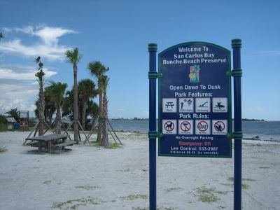 Sanibel View Is Located a 1/2 Mile From Bunche Beach