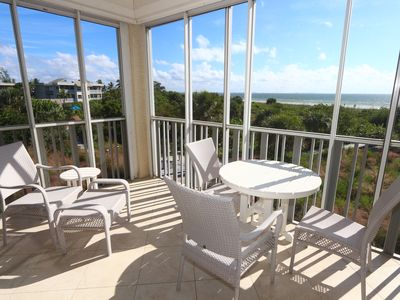 Luxury Two Bedroom Direct Beach Front Condo - Shell Island Beach Club 5A