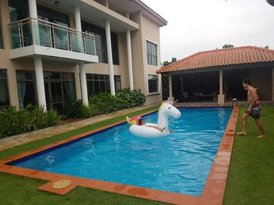 Photo for Bungalow with 12m swimming pool, gazebo and BBQ