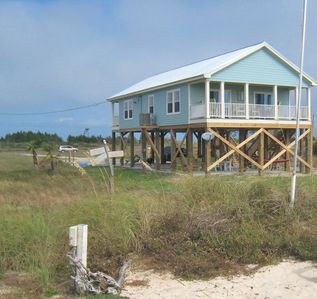 Photo for Pet Friendly New 3 Bedroom Beach House- Gulf View-Short Walk To Beach