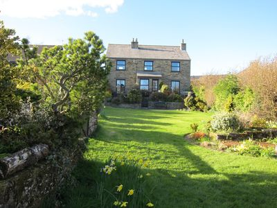 Photo for Cedarcroft Cottage Reeth, set in two acres of garden, river, ponds, amazing vie