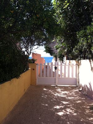 Photo for Rent T3 ON THE GROUND FLOOR, with private terrace, 20 m from SEA, parking