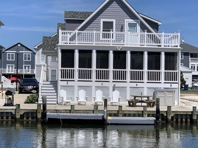 Photo for Fenwick Island -Waterfront 4 Bedroom Home, Swimming Pool, Boat Dock