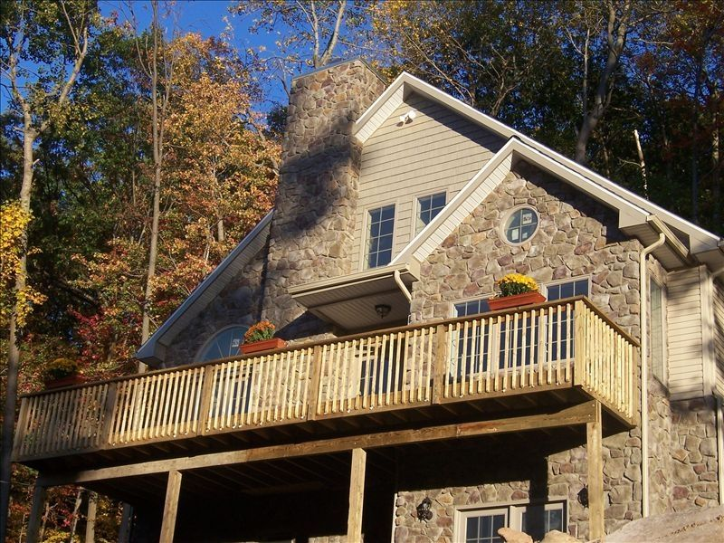 Eagle Rock Resort Stone Chalet Wooded Quiet Private