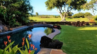 Photo for New Oceanview Luxury Home: A/C, Heated Pool on Greenbelt in the Heart of Poipu
